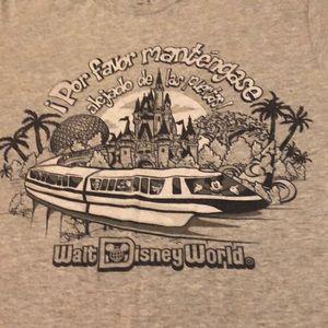 Disney Parks Authentic Monorail Shirt Men's Small